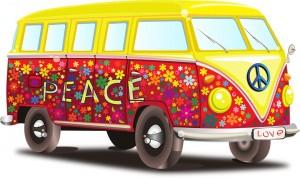 camionnette-peace-love
