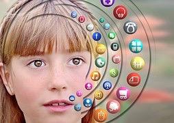 Réseaux sociaux téléphone portable