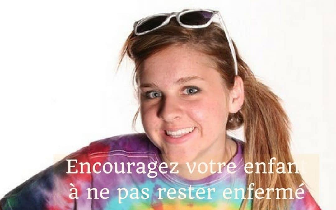 Encouragez votre adolescent à ne pas rester enfermé tout l'été (avec ses jeux vidéo)