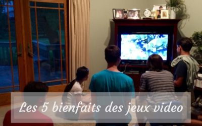 Les 5 bienfaits des jeux video
