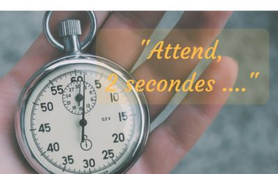 Mon ado dit «Attend, 2 secondes …»