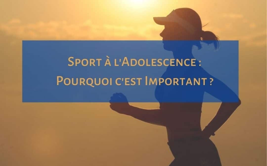 sport adolescence important